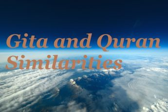 A Muslim Loves Gita and Quran