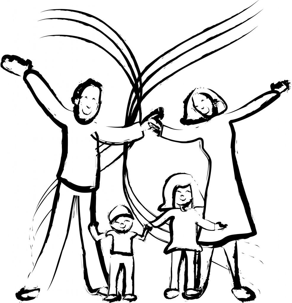 открытки на день семьи карандашом поиска запросу