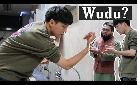 Daud Kim Learns How to Make Wudu